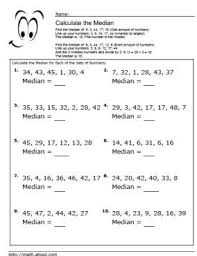 Calculating The Mean Median And Mode