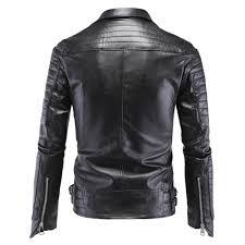 fashion men s winter leather jackets faux jacket