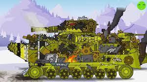 Đánh bại quái vật cũ - Phim hoạt hình về xe tăng [Gerand VN] - YouTube