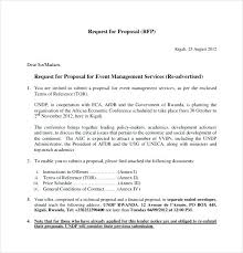 Event Proposal Pdf Classy Technical Proposal Template