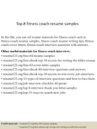 Fitness Coach Cover Letter - Sarahepps.com -