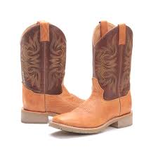 men s double h dress work boots pfi western store bootdaddy collection double h mens santa fe collection cowboy boots caramel