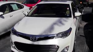 Limbaugh Toyota - 2013 Toyota Avalon Limited Super White - YouTube