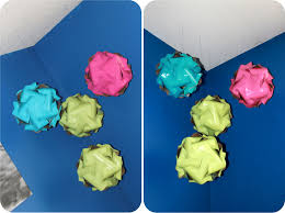 How To Make Colored Paper Spheresll