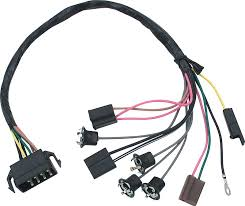 1968 camaro dash wiring diagram 1972 nova parts electrical and wiring wiring and connectors 1968 72 nova factory gauges console harness