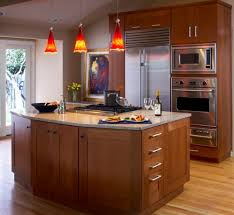 kitchen island lighting hanging. View In Gallery Bright Red Pendant Lights Offer A Vivid Contrast To This Largely Neutral Kitchen Island Lighting Hanging .