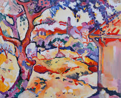 georges braque olive tree near lestaque 1906 oil on canvas musée national