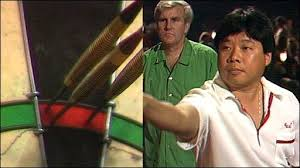 BBC Sport - Darts - Paul Lim's nine-dart finish in 1990