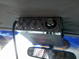 show your cb radio and antenna install page 7 expedition portal in my 87 burban i m running a 1977 palomar 21 cb it works great it different than most radios out there nowadays