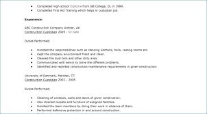 Janitor Job Description For Resume Getmytune Com