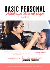 sai montes makeup artistry is having another cl on basic personal makeup where you can learn the foundation of that perfect look for any occasion