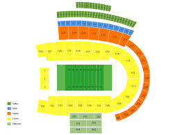 Folsom Field Seating Chart With Row And Seat Numbers Unbiased Colorado Football Seating Chart 2019