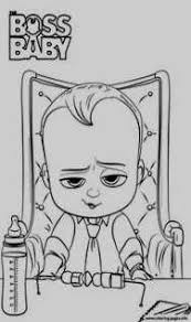 The Boss Baby Coloring Page Top 10 The Boss Baby Coloring Pages