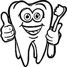 teeth coloring sheets pages dental for preschool as tooth brushing