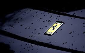 black ferrari logo wallpaper. ferrari car logo desktop wallpaper 58915 black a
