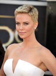 Charlize Theron Short Hair Style mens short hairstyles gray hair haircuts for men 6522 by wearticles.com