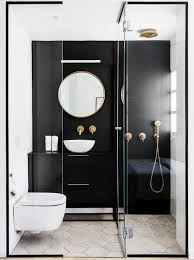 bathroom designs. Plain Designs A Striking Black And White Bathroom Design By Maayan Zusman On Bathroom Designs