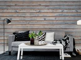 Great Leçon De Déco : Comment Créer Un Effet Bois Au Mur ?   Elle Décoration