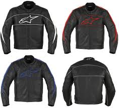 alpinestars atl leather jacket