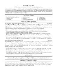 Mechanical Test Engineer Sample Resume Project Manager Resume