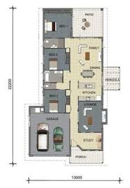 House Floor Plan Design   Bedrooms   Single Garage   bedrooms    House Floor plan design   Rendered Single Storey Home   Townsville  Australia