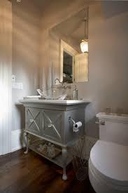 single bathroom vanities ideas. Beautiful Powder Bathroom Design Ideas : Fabulous With Grey Single Vanity Vanities