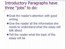 essay writing lesson writing introduction paragraphs for  2 introductory paragraphs
