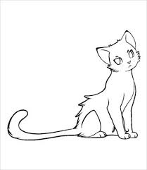 Cats have a confident, elegant, and proud personality. Cat Coloring Page 9 Free Pdf Jpg Format Download Free Premium Templates