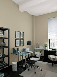 home office paint color schemes. warm neutrals expand this home office space paint color schemes l