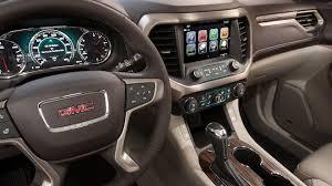 gmc acadia interior.  Acadia 2018 Acadia Denali Midsize Luxury SUV Interior Features Steering Wheel With Gmc Interior A