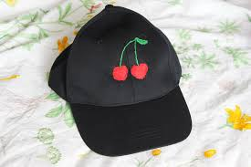 your embroidered baseball cap will soon be done this diy takes some patience but the end product always looks great