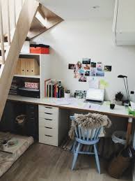 stunning ikea work table desks for small spaces with shelves and white desk and