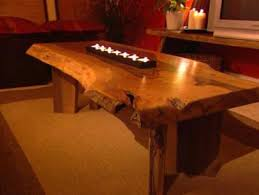 build a walnut slab coffee table