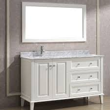 white bathroom cabinets with granite. single sink white 42 inch bathroom vanity with granite top and three drawers under framed cabinets