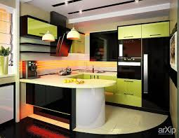 contemporary kitchen design for small spaces. Modern Kitchen For Small Spaces Cool Design In Space With Green Gloss Cabinet White Countertop Contemporary Yoadvice.com