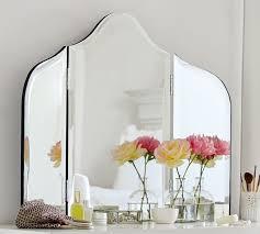 tri fold mirror vanity gallery