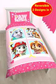 paw patrol bedding set twin size toddler uk