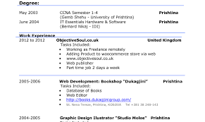 Pretty Resumes Database Images Example Resume Templates Collection