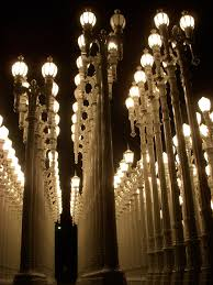 lacma urban lights lamp post installation so so beautiful