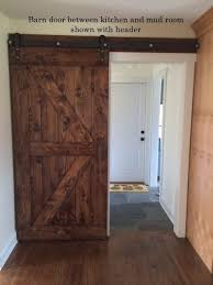 barn door entertainment cabinets are now also trendy