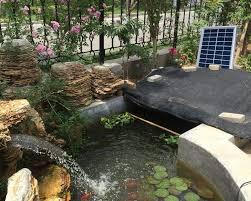 Trang trí đài phun nước công viên cùng hồ cá - Đèn Led Trang Trí