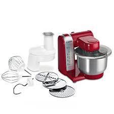 Bosch MUM48R1 Robot De Cocina 600 W, 3.9 L, Metal Y Plástico, 4  Velocidades, Rojo: Amazon.es: Hogar