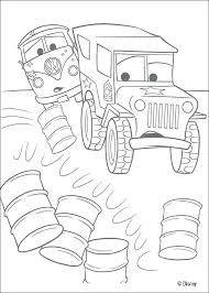 disney cars 2 coloring pages and queen cars builitary jeep coloring page coloring pages