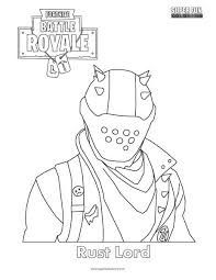 Fine Decoration Coloring Pages Fortnite Scar Printable View In Full