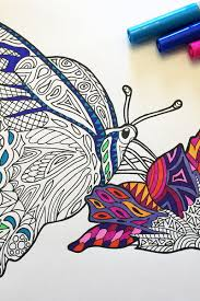 Vector floral motifs coloring page. 16 Zentangle Coloring Pages Favecrafts Com