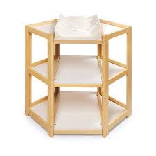 Amazon.com : Badger Basket Diaper Corner Changing Table, Natural : Baby