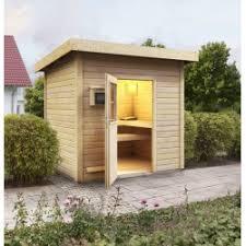 Sauna Du0027extérieur En Bois Norge   6 à 8 Places 38mm KARIBU