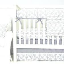 gender neutral bedding and gray arrow gender neutral 3 piece crib bedding set
