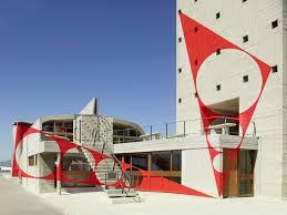 Face à Face Entre Felice Varini Et Le Corbusier Exposition à La