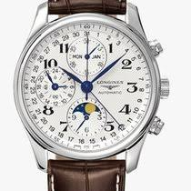 longines l2 673 4 78 3 longines reference ref id l2 673 4 78 3 longines master collection moonphase 40mm leather l26734783